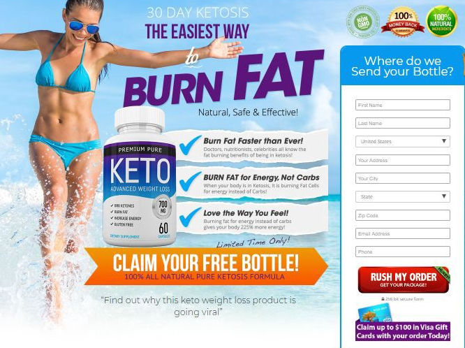 premium pure keto - buy