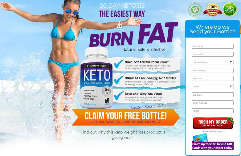 premium pure keto - reviews