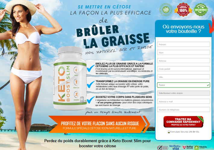 keto boost slim - vue d'ensemble