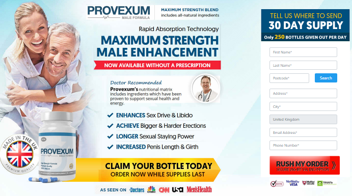 provexum - male enhancement UK
